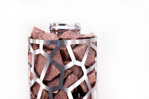 Сетка-каменка №1 (Саванна) —  d-250 — h-750 мм —  нерж 1,5 мм AISI 430