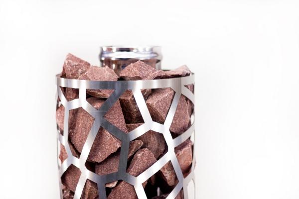 Сетка-каменка №1 (Саванна) —  d-300 — h-750 мм —  нерж 1,5 мм AISI 430