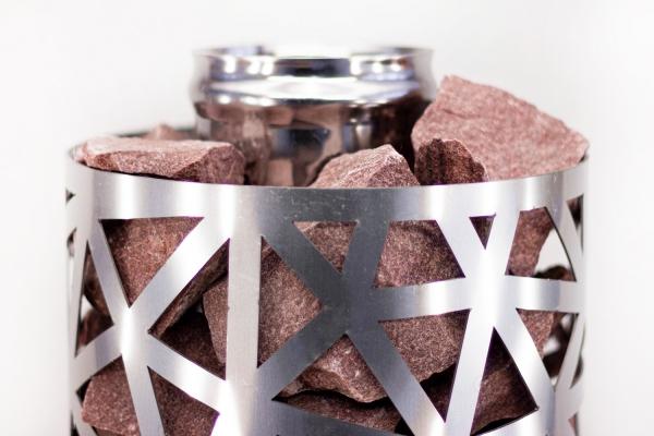 Сетка-каменка №1 (Саванна) —  d-350 — h-750 мм —  нерж 1,5 мм AISI 430