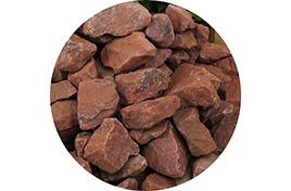 Камни для сауны ЯШМА СУРГУЧНАЯ ( ведро 10 кг)
