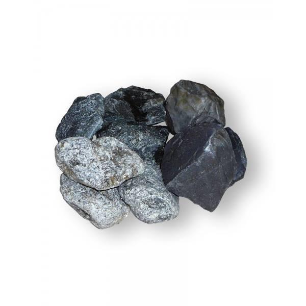 Микс: талькохлорит(10кг)+дунит (10 кг)+кварцит(10 кг)