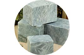 Камни для сауны Нефрит кубики (10 кг)