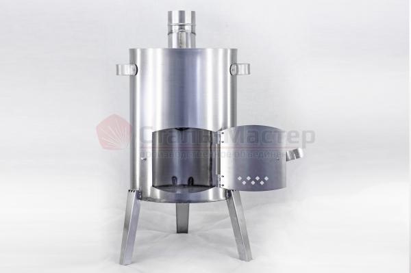 Печка-прачка с баком — 32 л — нерж 1 мм/ бак оц