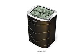 Печь банная электрическая Примавольта, 9кВт, черная бронза