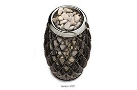 Печь - сетка банная электрическая Мэри Экс 9кВт черная бронза